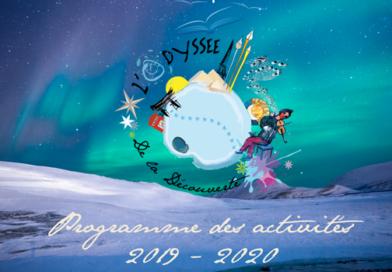 Le calendrier de l'Odyssée 2019-2020