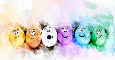 Les zeux de Pâques